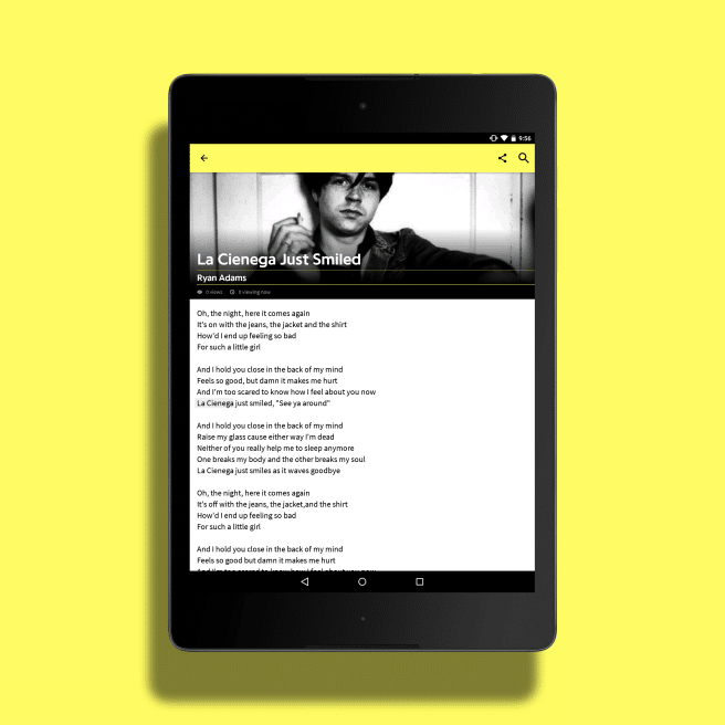 Android Genius letras