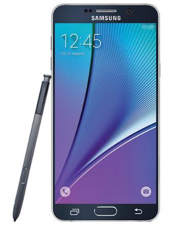 Samsung Galaxy Note 5 imagen prensa
