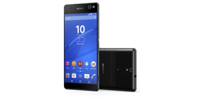 Sony Xperia C5 ultra negro
