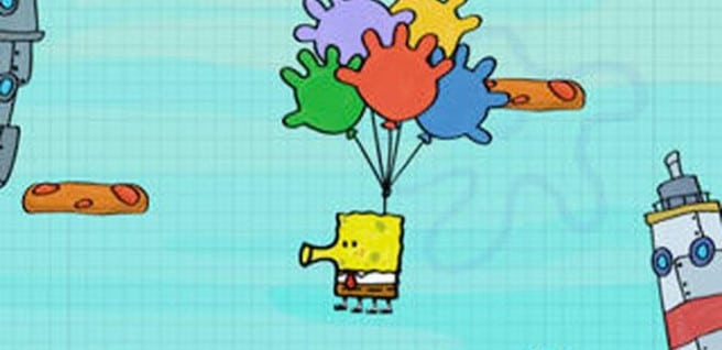 Bob Esponja Doodle Jump iOS