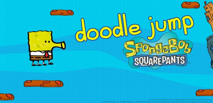 Bob Esponja Doodle Jump juego