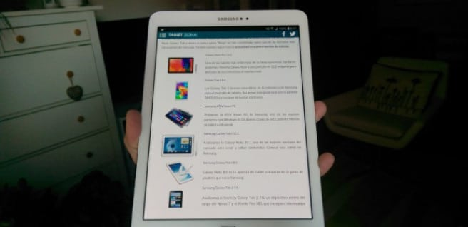 Galaxy Tab S2 blanca
