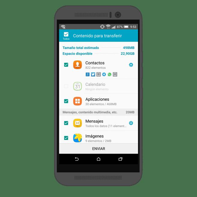 HTC One M9 Smart Switch