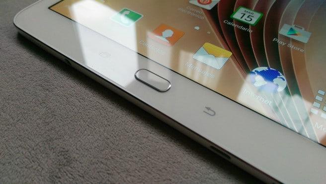 Galaxy Tab S2 lector de huellas