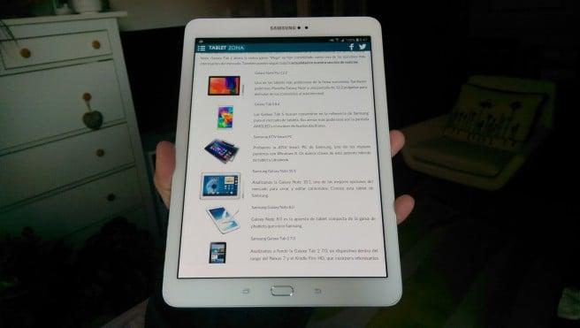 Galaxy Tab S2 analisis a fondo