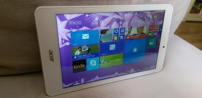 Iconia Tab 8 W pantalla