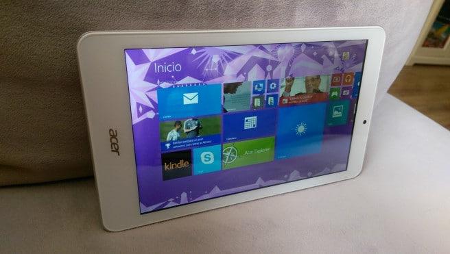 Tablet de Acer con Windows analisis
