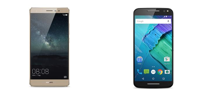 Huawei Mate S Motorola Moto X Style