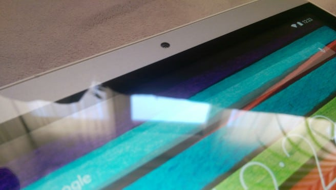 Wolder Tablet Nex York pantalla camara