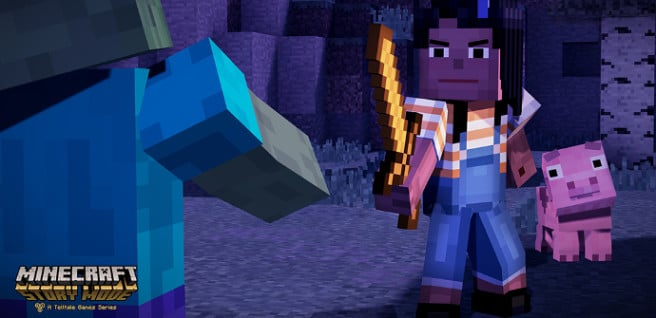 Minecraft Story Mode ios android