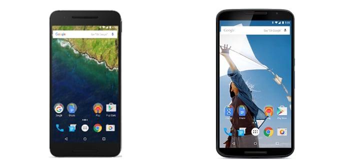 Huawei Nexus 6P Motorola Nexus 6