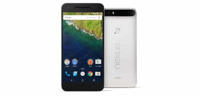 Nexus 6p blanco