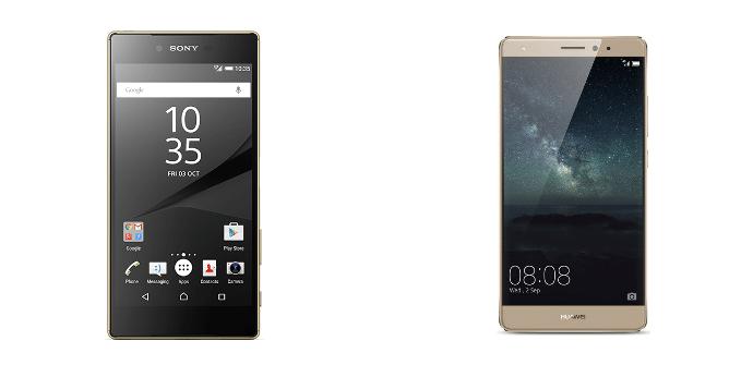 Sony Xperia Z5 Premium vs Huawei Mate S