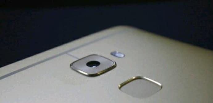 Huawei Mate S lector huellas