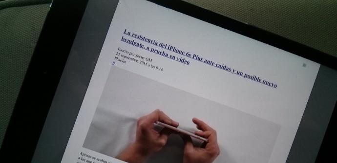 iPad PDF web