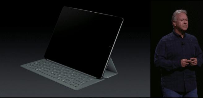 teclado tipo Surface iPad Pro
