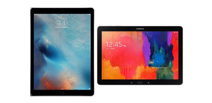 Apple iPad Pro Samsung Galaxy NotePRO 12.2