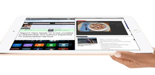 iPad Pro blanco