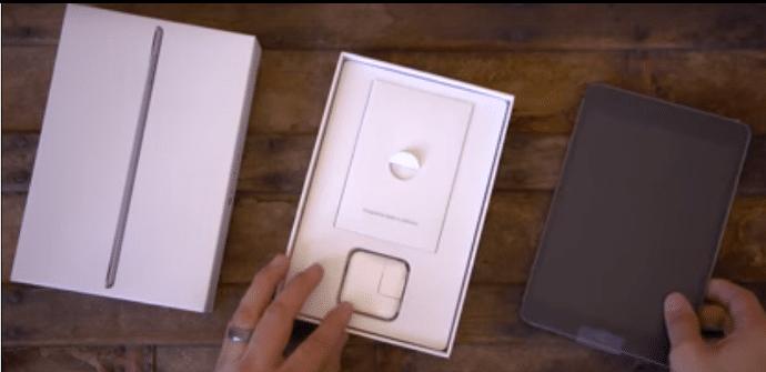 iPad mini 4 caja