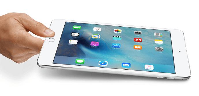 iPad mini 4 blanco