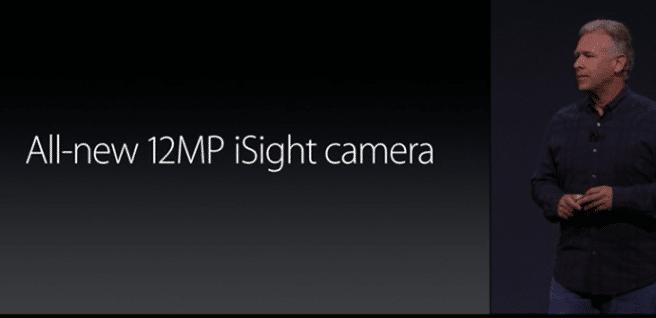 iPhone 6S camara 12 megapixeles