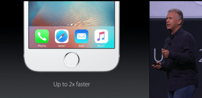 iPhone 6S nuevo touch id