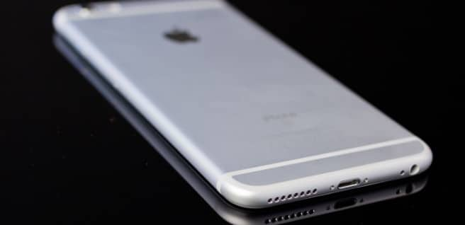 iPhone 6s Plus trasera