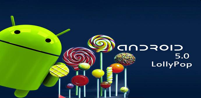 Android 5.0 pantalla