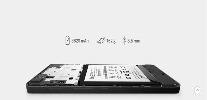 BQ Aquaris M5.5 bateria