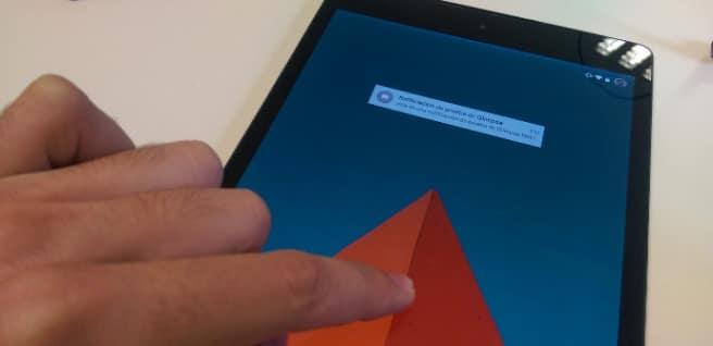 Encender pantalla app