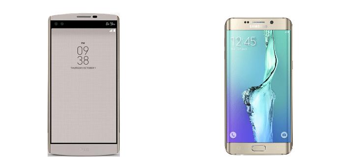 LG V10 Samsung Galaxy S6 edge+