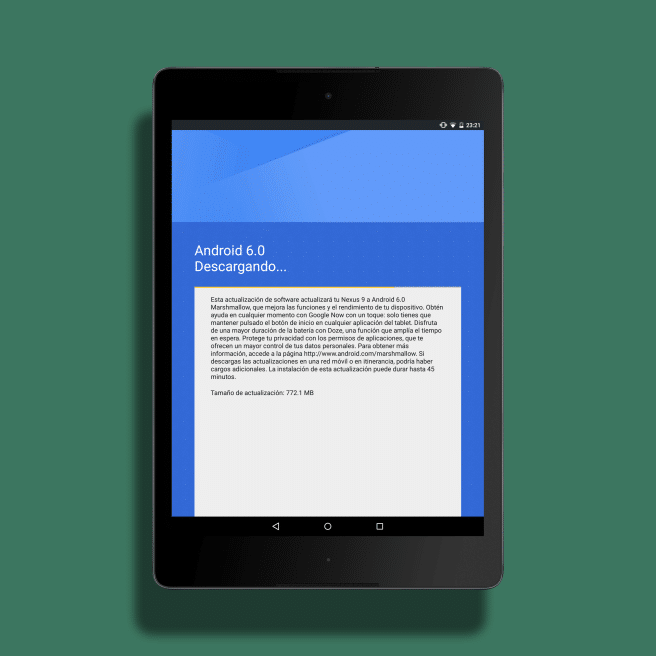 Android 6 actualizacion