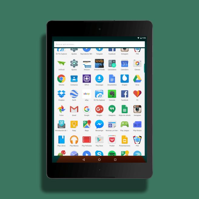 Android 6 aplicaciones
