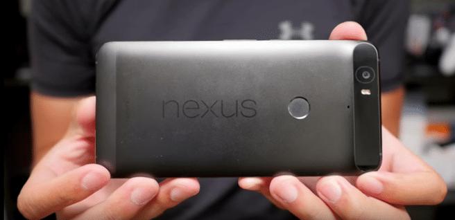 Nexus 6P lector