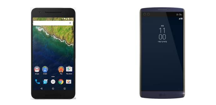 Google Nexus 6P LG V10