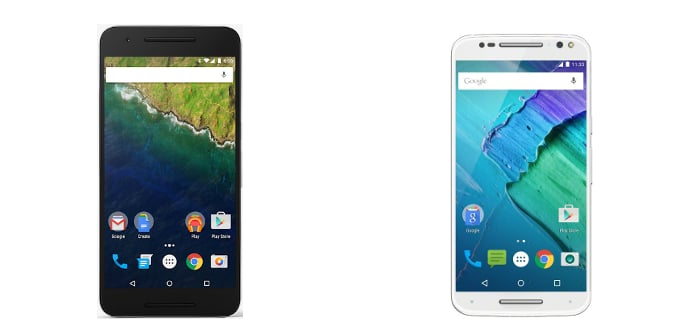 Google Nexus 6P Motorola Moto X Style