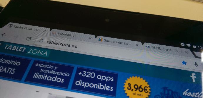 sincronizar pestañas ordenador tablet