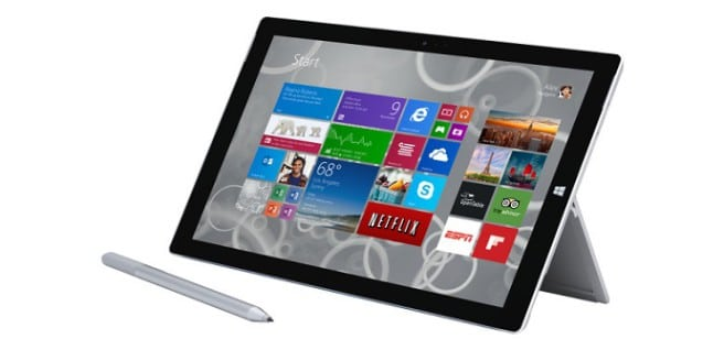 Surface Pro 3 pen