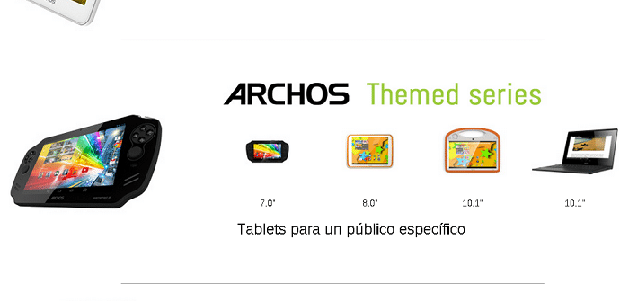 Archos Themed Series Tablets