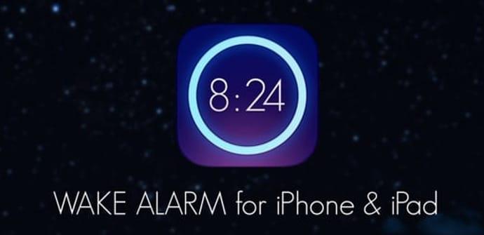 wake alarm ipad