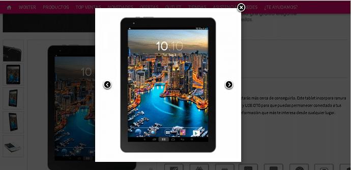 Woxter Zielo Tab 101 pantalla 9.7 pulgadas