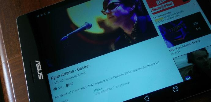Youtube ZenPad S 8.0