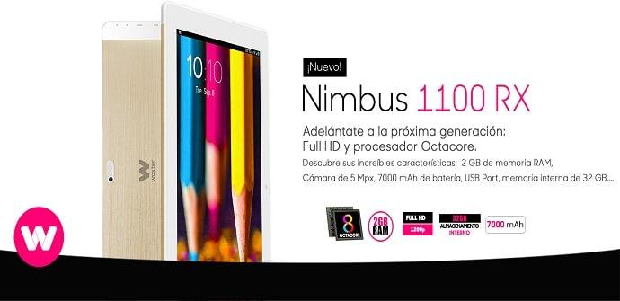 tablet nimbus 1100rx