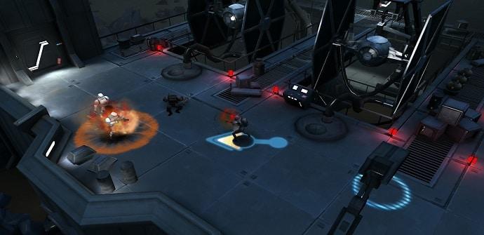 Star Wars Revolucion combate