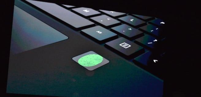 teclado surface pro 4 lector huellas