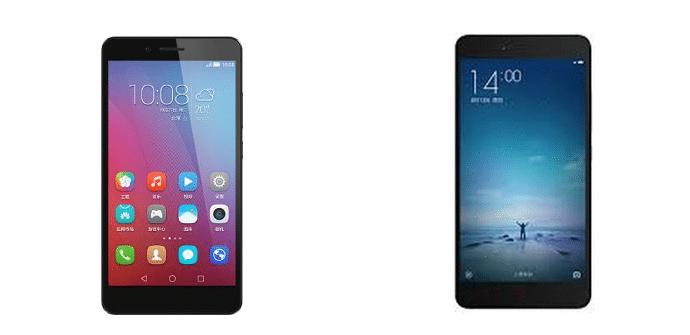 Huawei Honor 5x Xiaomi Redmi Note 2