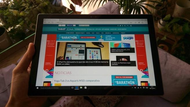 Surface Windows 10 Edge TabletZona