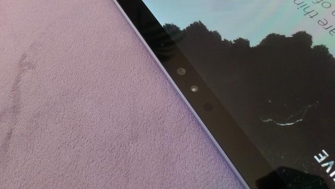 Tablet Surface Windows 10 camara frontal