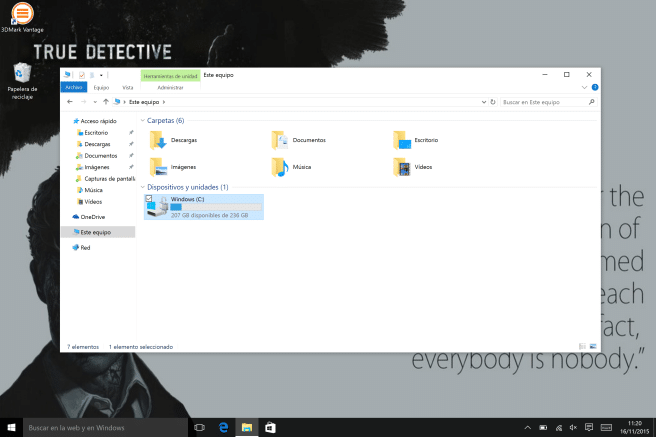 Tablet Surface Windows 10 memoria
