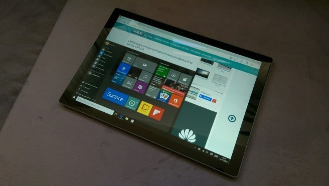 Tablet Surface Windows 10